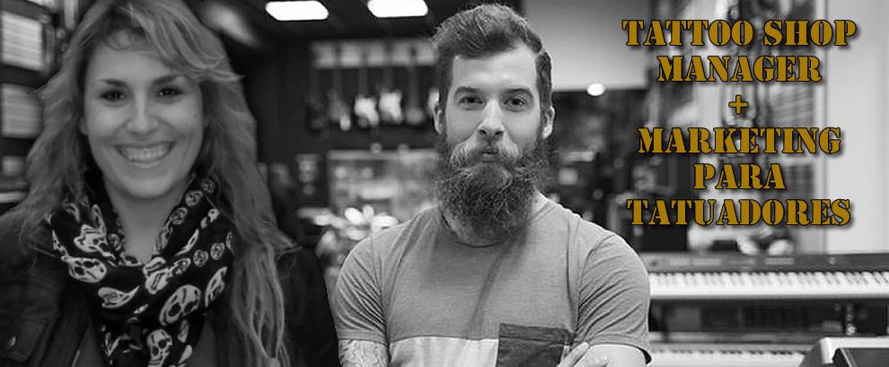 tattoo shop manager y marketing para tatuadores